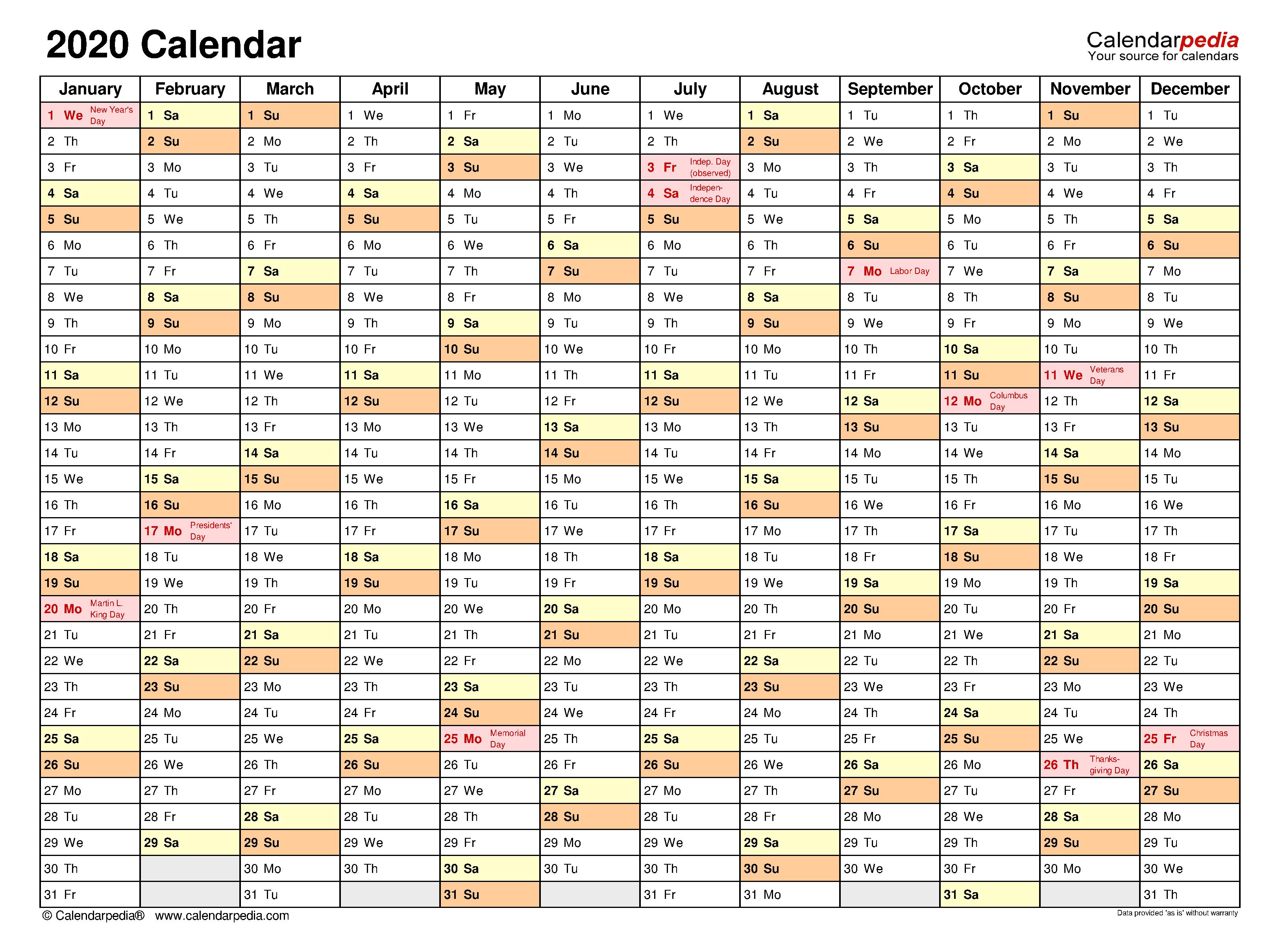 Planner Calendar Template from www.calendarpedia.com