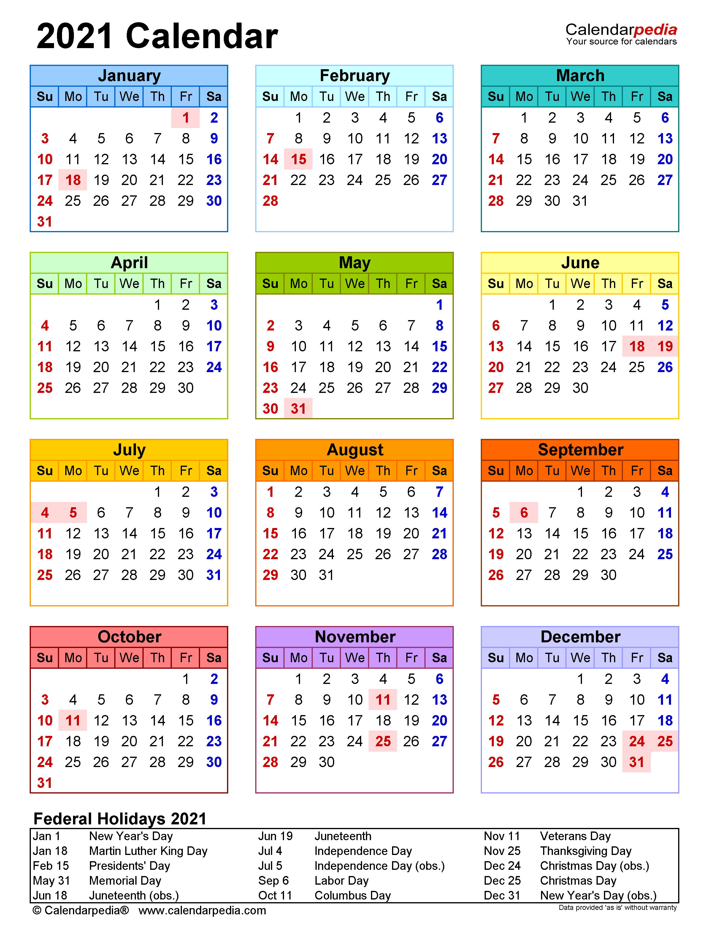 Calendar Printable Pdf Calendarpedia 2021 | Printable March