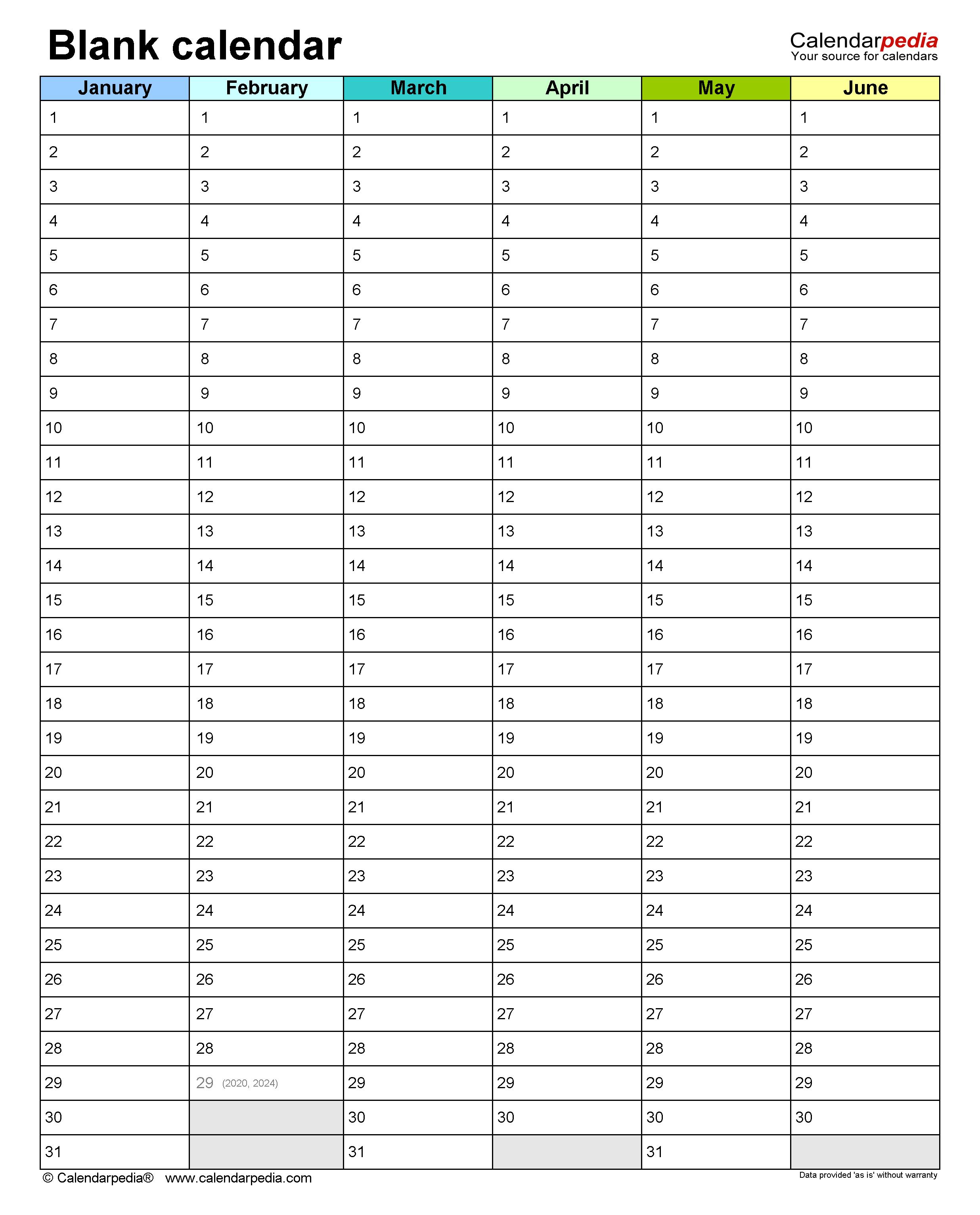 Calendar Template For Word from www.calendarpedia.com