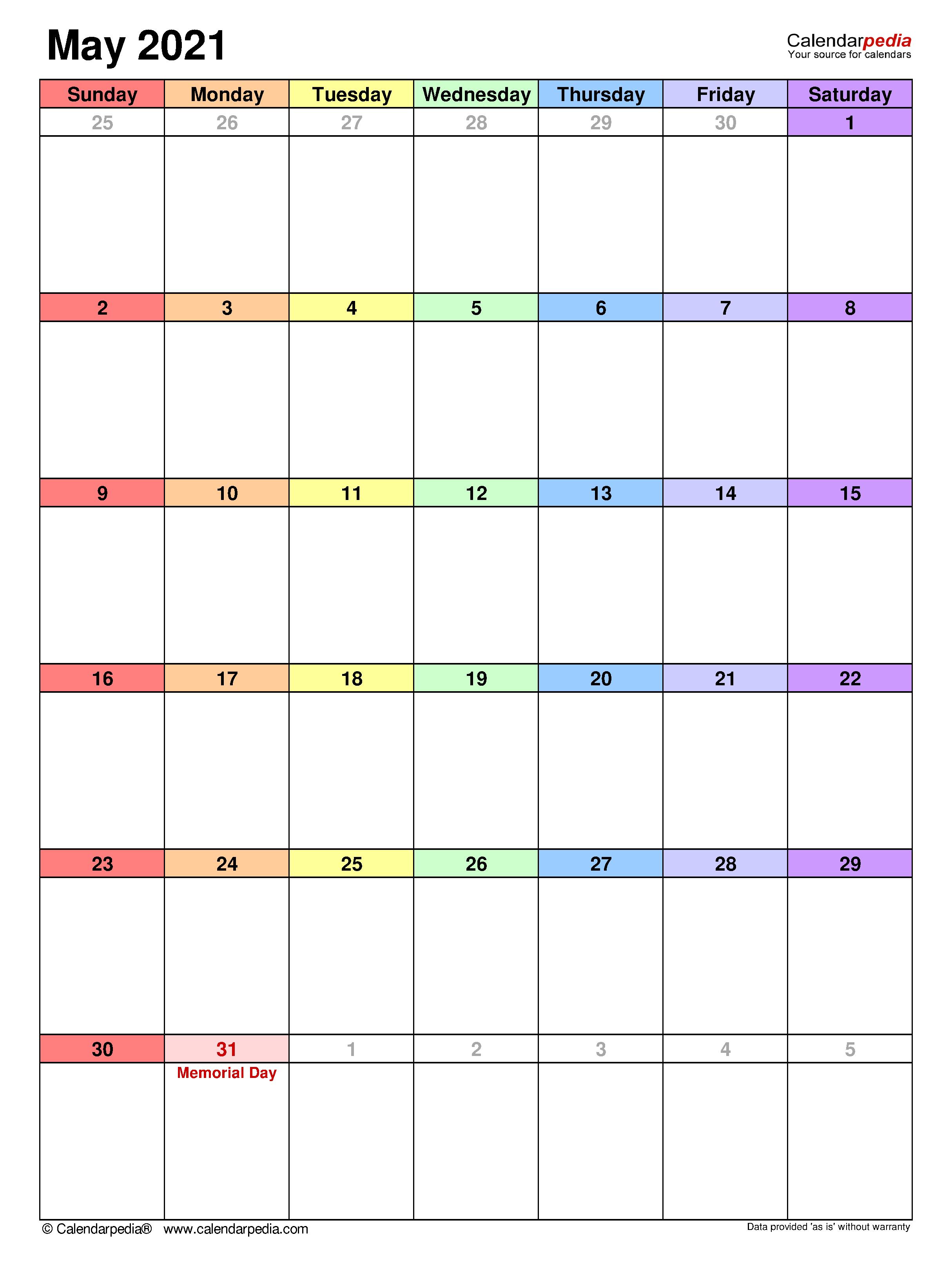Kalender 2021 Format Excel - aboi123456