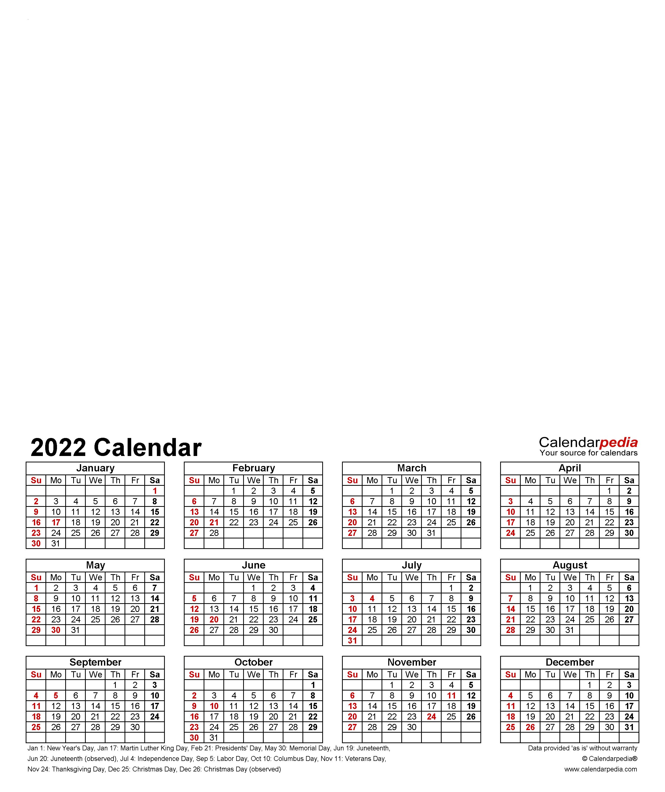 Personalized Calendar 2022.Photo Calendar 2022 Free Printable Pdf Templates