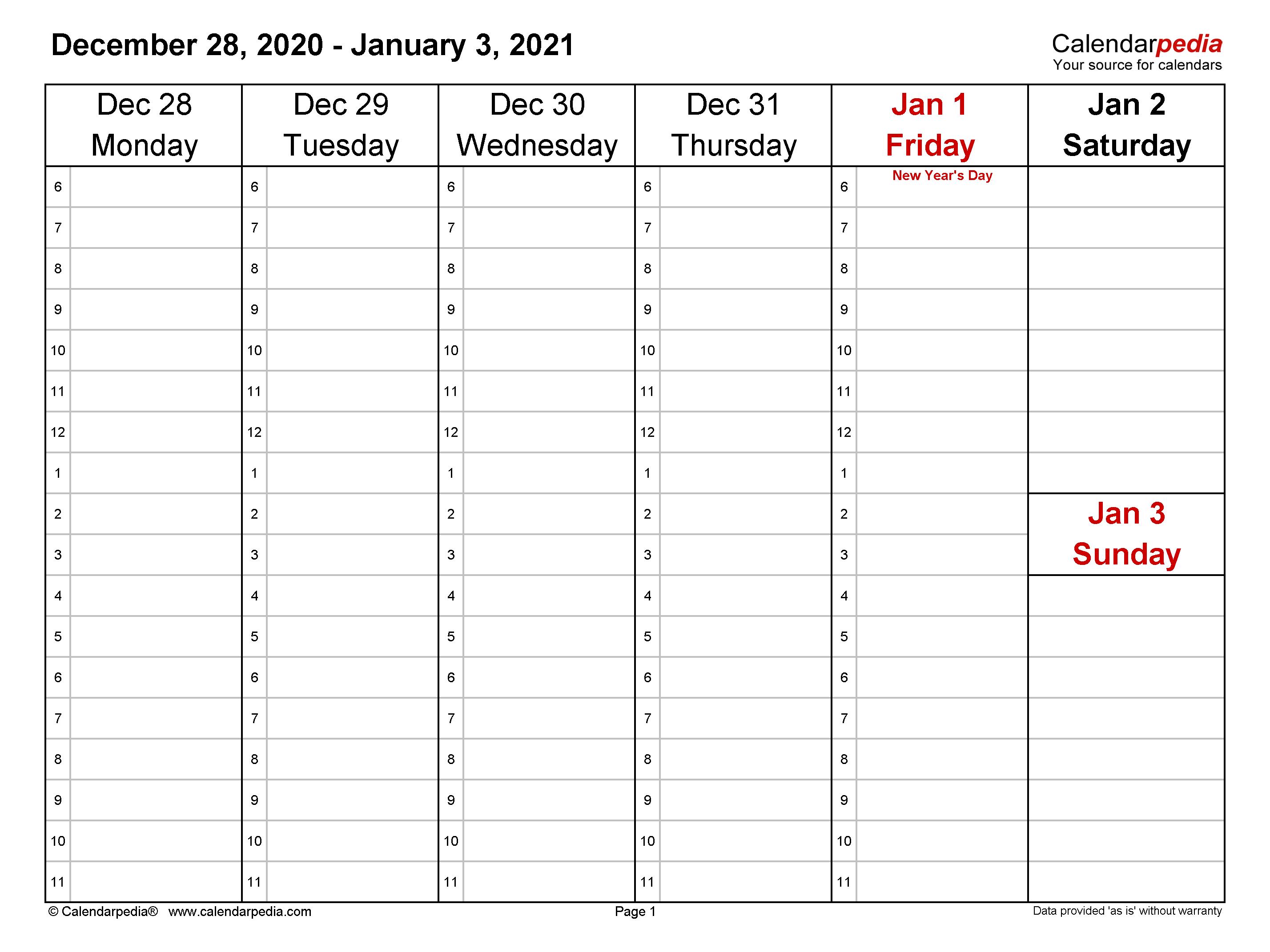 Free Downloadable 2021 Word Calendar - Take 2021 Printable ...