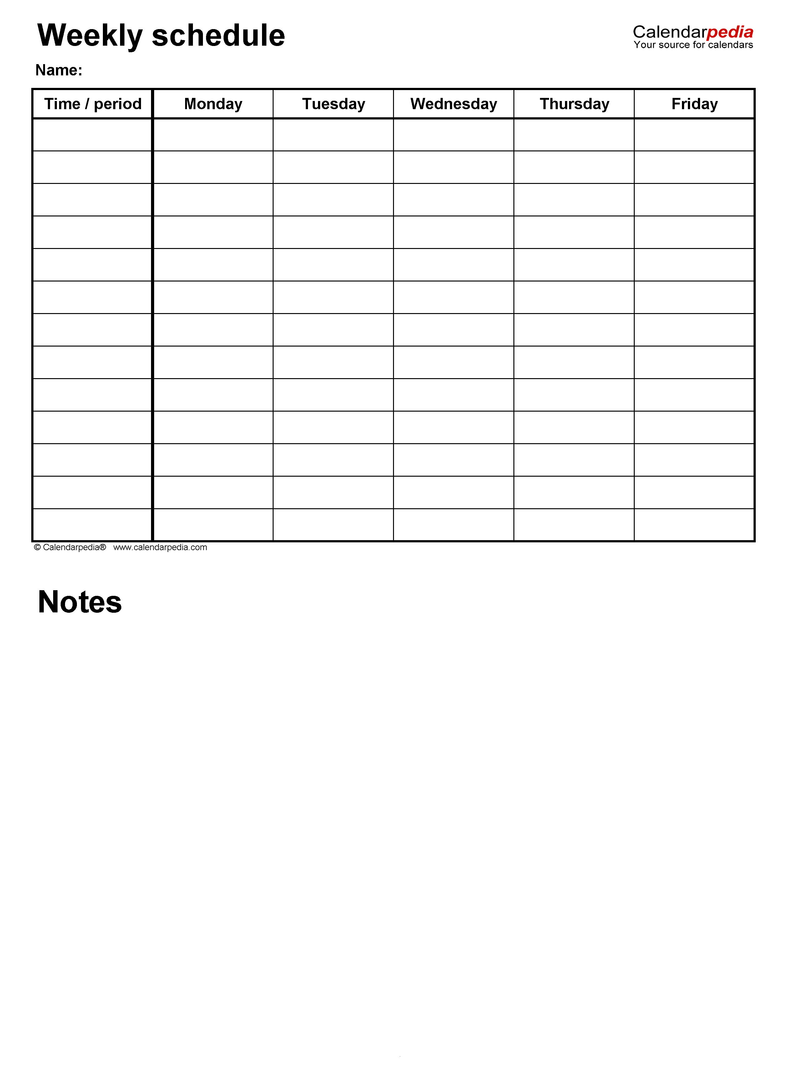 Time Slot Sign Up Sheet Template from www.calendarpedia.com
