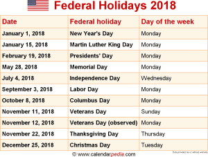 download federal holidays 2018 as png file