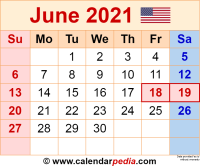 June 2021 calendar as a graphic/image file in PNG format