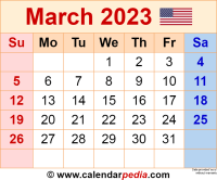 March 2023 calendar as a graphic/image file in PNG format