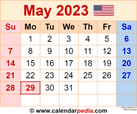 May 2023 calendar as a graphic/image file in PNG format