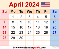April 2024 calendar as a graphic/image file in PNG format