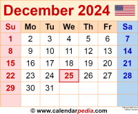 December 2024 calendar as a graphic/image file in PNG format
