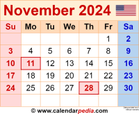 November 2024 calendar as a graphic/image file in PNG format
