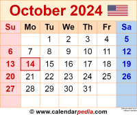 October 2024 calendar as a graphic/image file in PNG format