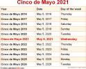 Cinco de Mayo 2021