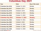 Columbus Day 2021