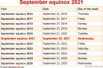 September equinox 2021