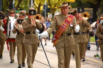 ANZAC Day Parade. Photo: flickr.com/photos/72562013@N06/8680295062