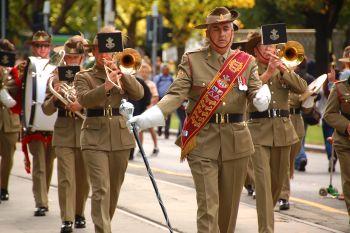 ANZAC Day Parade. Photo: flickr.com/photos/72562013@N06/8680295062