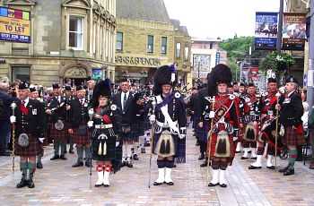 Armed Forces Day parade in Inverness, Scotland. Photo: https://www.flickr.com/photos/conner395/5967965896