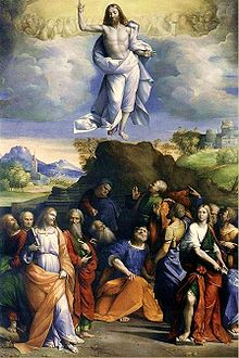 Ascension of Christ by Garofalo, 1520