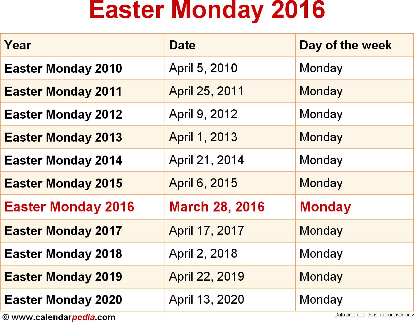 2016 Catholic Liturgical Year | Calendar Template 2016