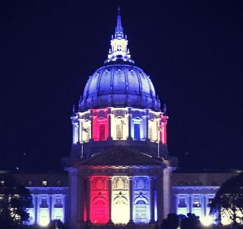 San Francisco City Hall on Election Day 2018. Photo: Wikimedia