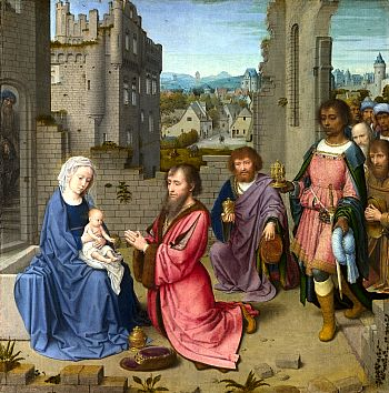 Adoration of the Kings, by Gerard David. National Gallery, London