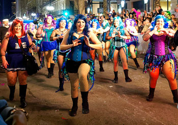 Fat Tuesday carnival celebrations in New Orleans. Photo: flickr.com/photos/miguel_discart_vrac