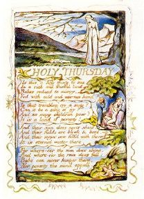 William Blake's 1794 poem Holy Thursday, i.e. Ascension Day