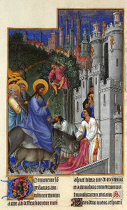Palm Sunday, which commemorates Jesus' triumphant entry into Jerusalem, marks the beginning of Holy Week.