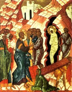 The resurrection of Lazarus on Lazarus Saturday