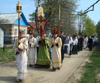 Pascha procession in Russia. Photo: Wikimedia Commons