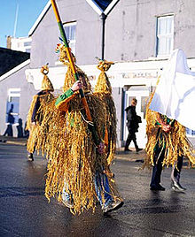 Wrenboys on St. Stephen's Day in Dingle, Ireland