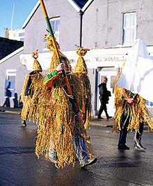 Wrenboys on St. Stephen's Day in Dingle, Ireland