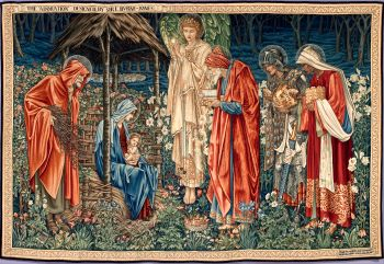 The Adoration of the Magi (three kings) by Edward Burne-Jones