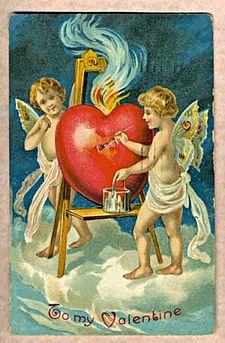 Antique Valentine's card