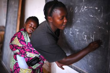 World Teachers' Day is celebrated annually on October 5. Photo: flickr.com/photos/julien_harneis/3240470193